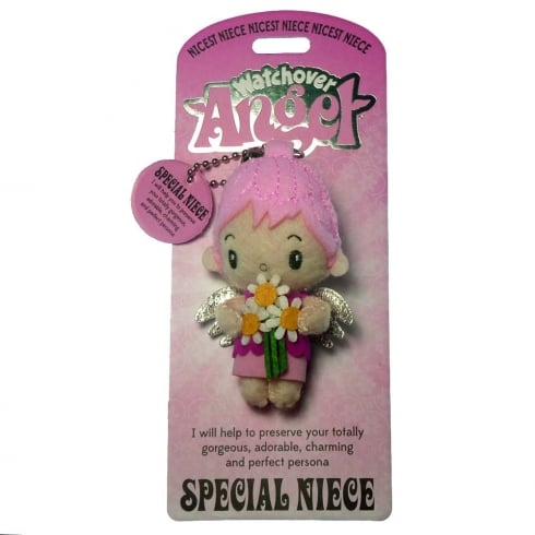 Watchover Angels Special Niece Angel Keyring
