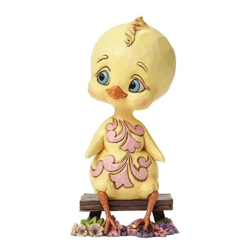 Jim Shore Heartwood Creek Spring Chick Easter Figurine