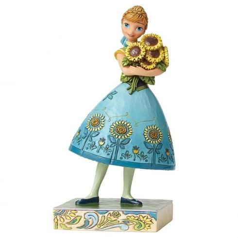 Disney Traditions Spring In Bloom (Frozen Fever) Anna Figurine