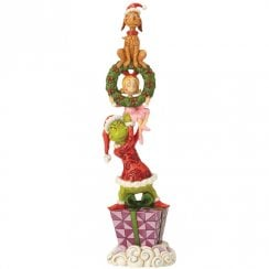 Stacked Grinch Characters Figurine