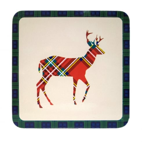 D & C Stag Coaster Set