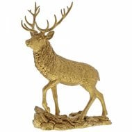 Stag Gold Figurine
