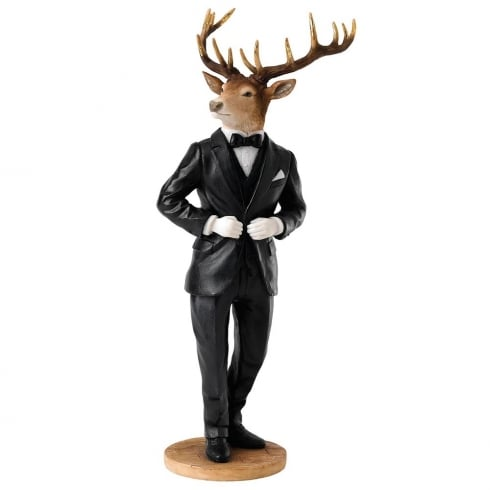 Border Fine Arts Stags With Style Collection Edward Figurine