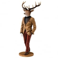 Stags With Style Collection Hugo Figurine