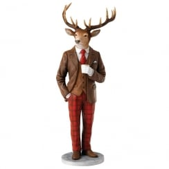 Stags With Style Collection Spencer Figurine
