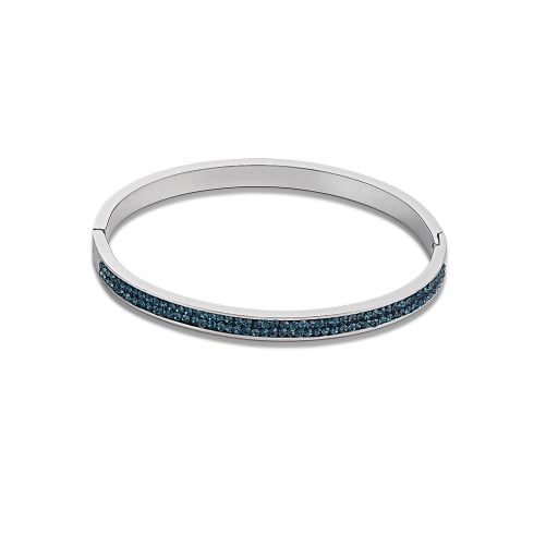 COEUR DE LION Stainless Steel Crystal Bangle Montana