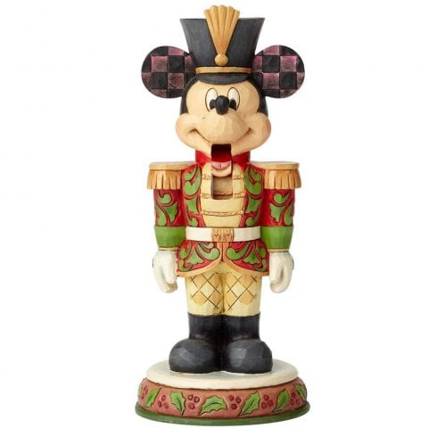 Disney Traditions Stalwart Soldier Nutcracker Mickey Figurine