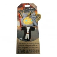 Star Warrior Voodoo Keyring