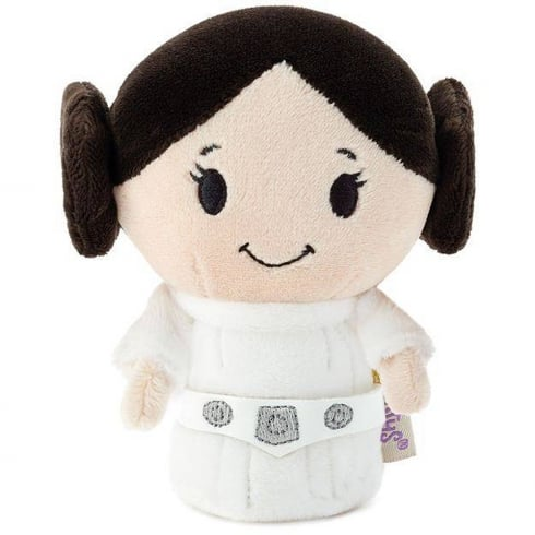 Hallmark Itty Bittys Star Wars Classic Princess Leia Organa In Blister Pack US Limited Edition