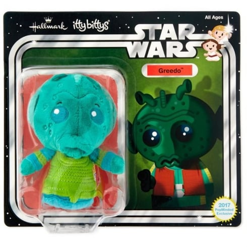 Hallmark Itty Bittys Star Wars - Greedo on Blister Card US Limited Edition