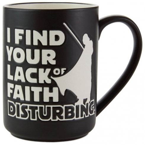 Hallmark Star Wars Lack Of Faith Darth Vader Mug