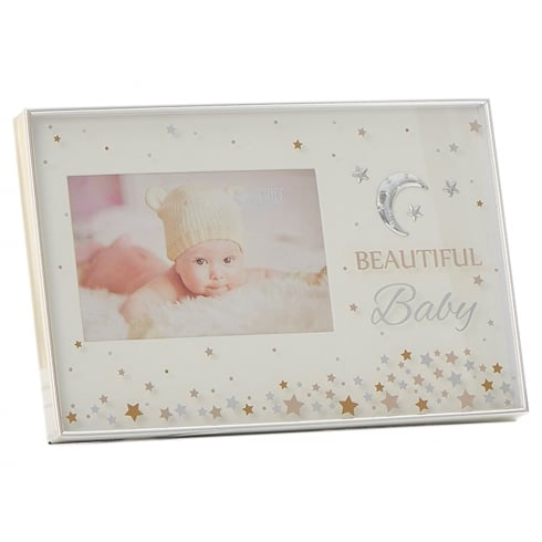 Shudehill Giftware Stars Beautiful Baby 6 x 4 Photo Frame