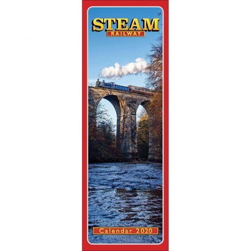 Otter House Steam Railway 2020 Slim Calendar