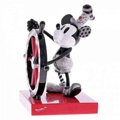 Disney By Britto Steamboat Willie Figurine
