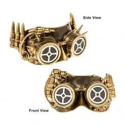 Steampunk Bullet Eye Mask