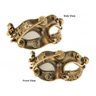 Steampunk Mesh Eye Mask