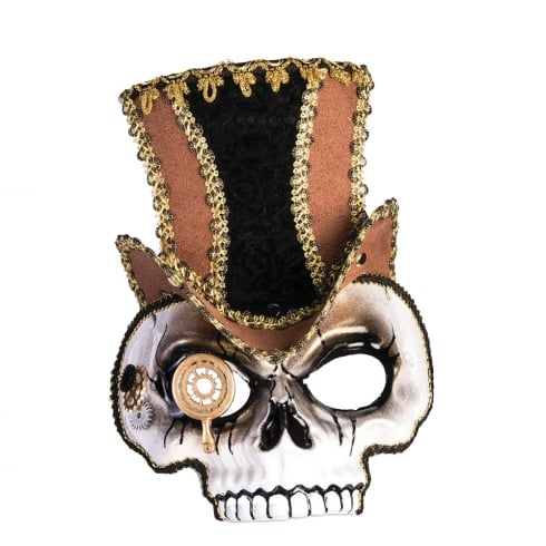 Bristol Novelty Steampunk Skull Mask