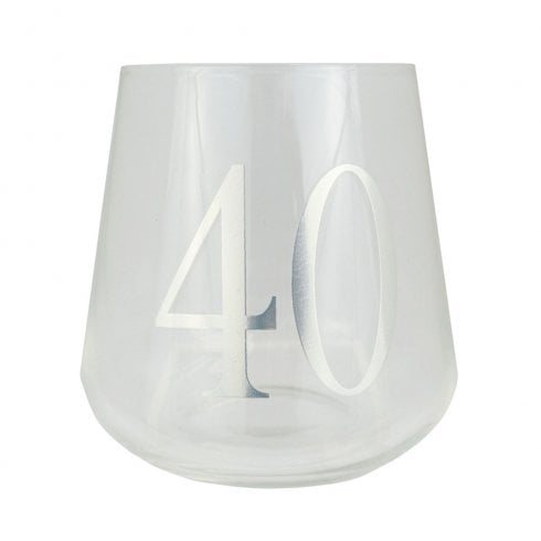 Celebrate In Style Stemless Wine Glass -40