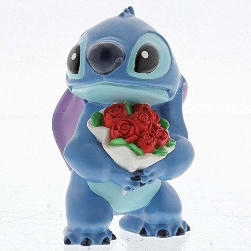 Disney Showcase Stitch Flowers Figurine