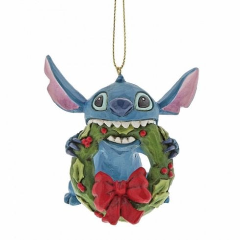 Disney Traditions Stitch Hanging Ornament