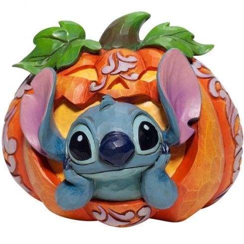 Disney Traditions Stitch O Lantern Figurine