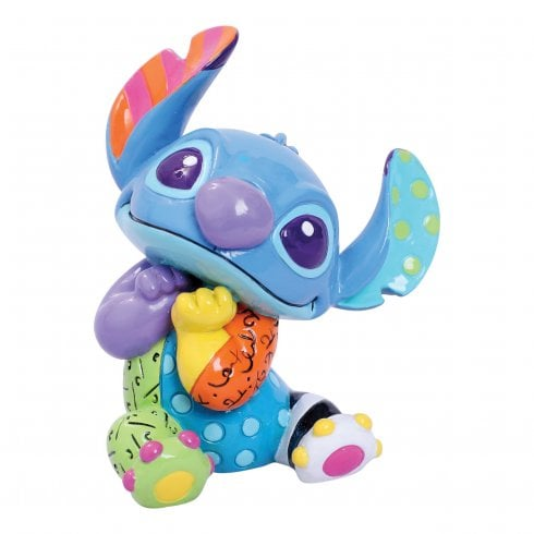 Disney By Britto Stitch Sitting Mini Figurine