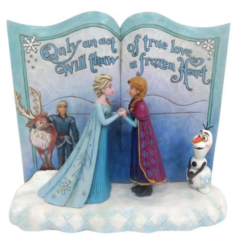 Disney Traditions Storybook Act Of Love Frozen Diarama