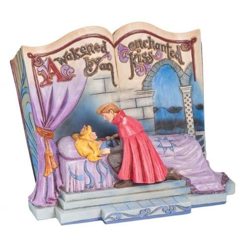 Disney Traditions Storybook Enchanted Kiss Sleeping Beauty Diarama