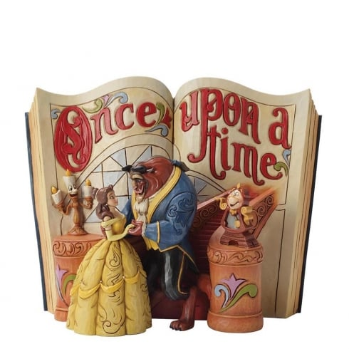 Disney Traditions Storybook Love Endures Beauty and The Beast Diarama