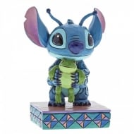 Strange Life-Forms Stitch with Frog Figurine