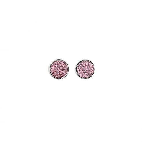 COEUR DE LION Stud Earrings Crystal Rose