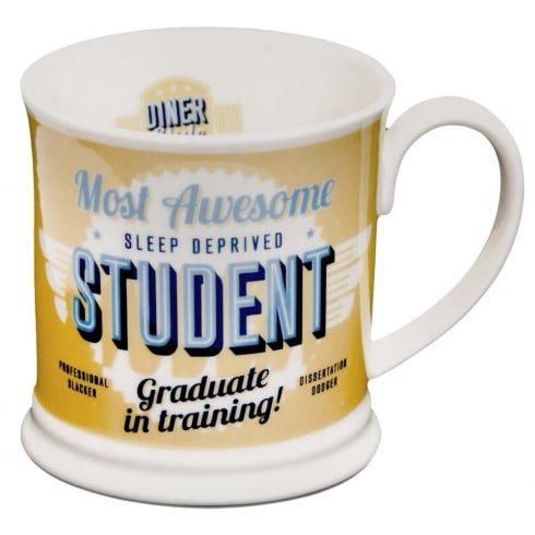 Diner Style Mugs Student