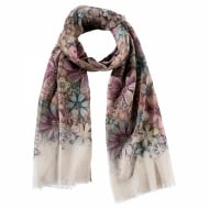Style & Gracie Floral Scarf