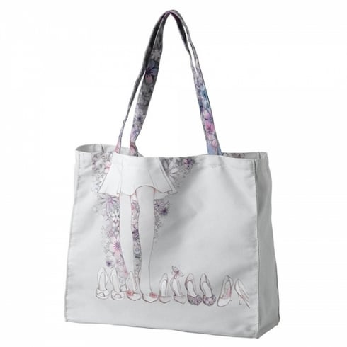 Hallmark Style & Gracie Shoe Canvas Tote Bag