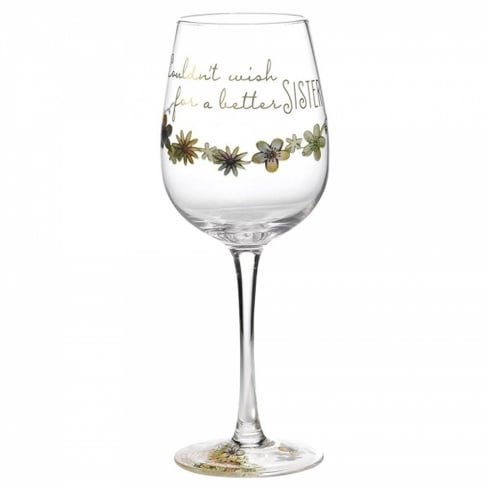 Hallmark Style & Gracie Wish Wine Glass