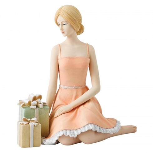 Hallmark Style & Gracie Wishing Resin Figurine