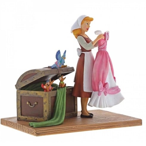 Disney Enchanting Collection Such A Surprise - Cinderella Figurine