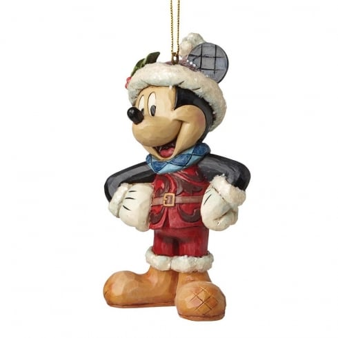 Disney Traditions Sugar Coated Mickey Mouse Hanging Ornament