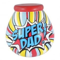Super Dad Ceramic Money Pot