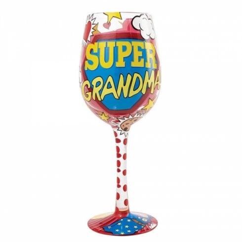 Lolita Super Grandma Wine Glass