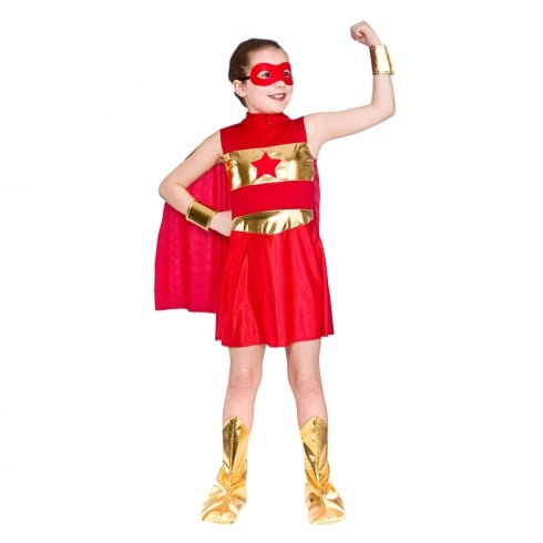 Wicked Costumes Super Hero - Red (8-10)