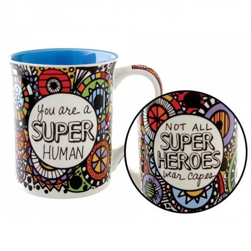 Our Name Is Mud Super Human Mug