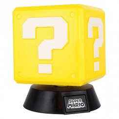 Super Mario Icon Light Question Block