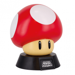 Super Mario Icon Light Super Mushroom