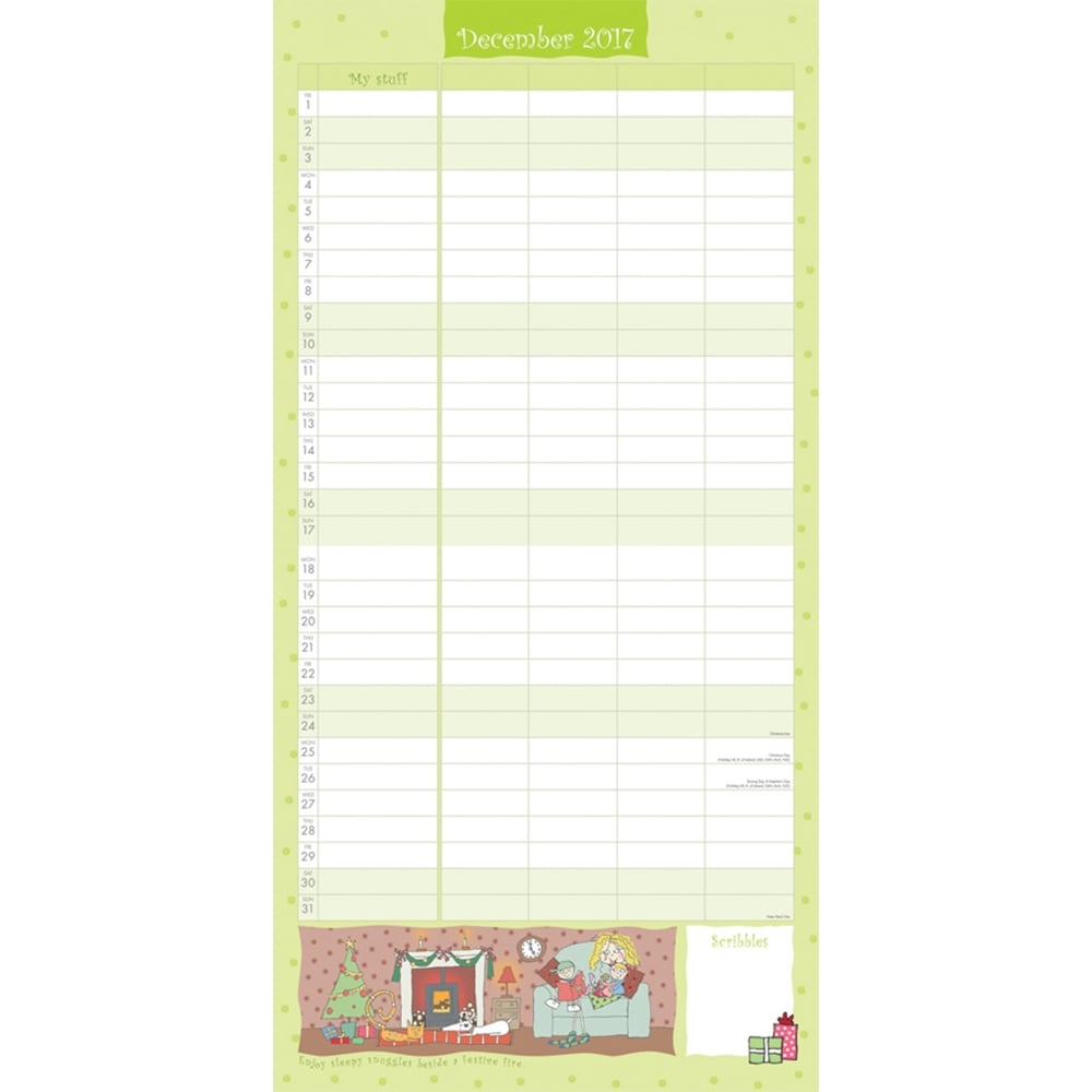 Month To View Planner Organiser Office Equipment & Supplies Boofle