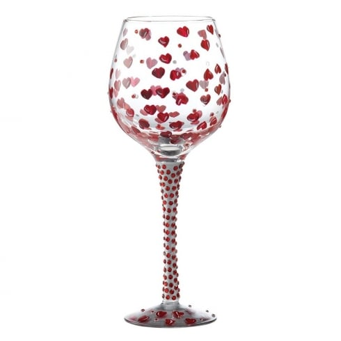 Lolita Superbling Red Hot Large Wine Glass