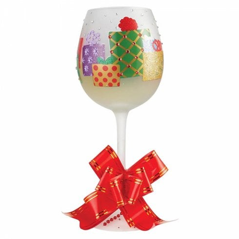 Lolita Superbling Yuletide Treasures Wine Glass