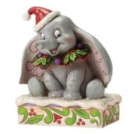 Sweet Snow Fall Dumbo Figurine