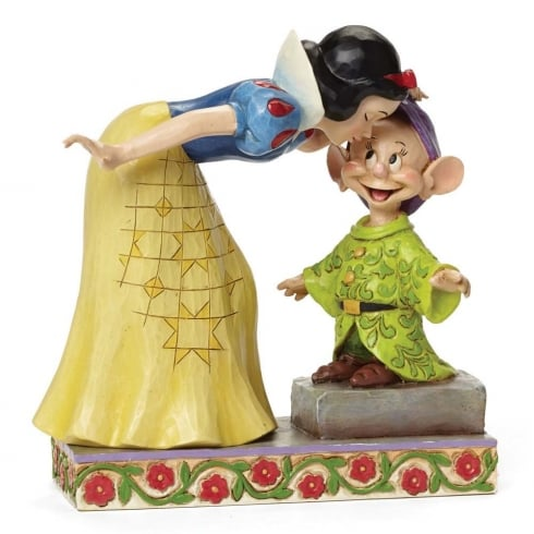 Disney Traditions Sweetest Farewell Snow White kissing Dopey