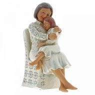 Sweetness Runs In The Family Grandmother With Child Figurine